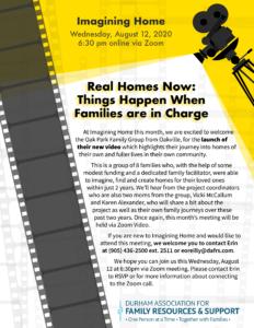 Imagining Home Meeting @ Online via Zoom   Oshawa   Ontario   Canada