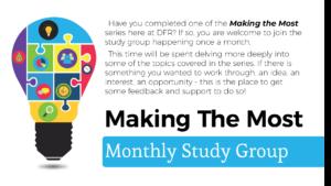 Making the Most Study Group @ Online via Zoom | Oshawa | Ontario | Canada