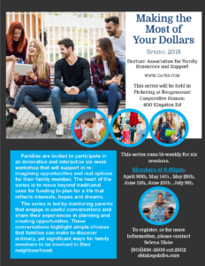 Making the Most of Funding - Spring 2018 @ Rougemount Co-operative Homes | Pickering | Ontario | Canada