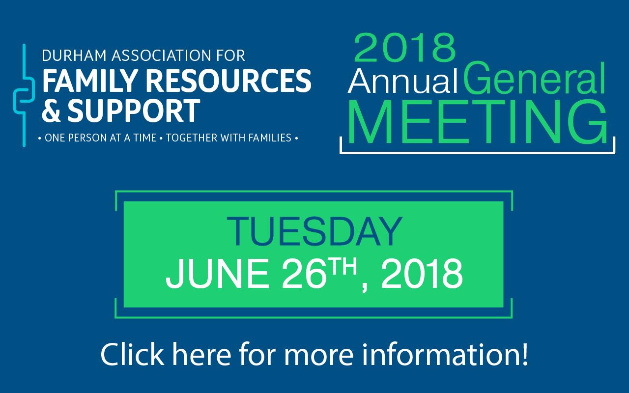 DAFRS 2018 Annual General Meeting - Tuesday, June 26, 2018