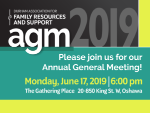 Annual General Meeting @ The Gathering Place | Oshawa | Ontario | Canada