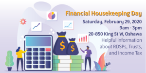 Financial Housekeeping Day @ The Gathering Place | Oshawa | Ontario | Canada