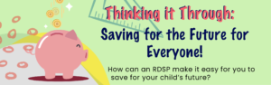 Thinking it Through: Saving for the Future for Everyone! @ Online via Zoom